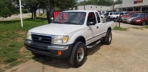 2000 Toyota Tacoma for sale at STX Auto Group in San Antonio TX