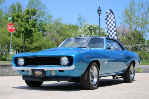 1969 Chevrolet Camaro for sale at Great Lakes Classic Cars & Detail Shop in Hilton NY