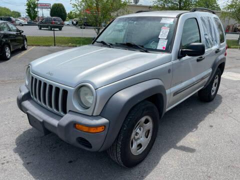 2004 Jeep Liberty for sale at Diana Rico LLC in Dalton GA