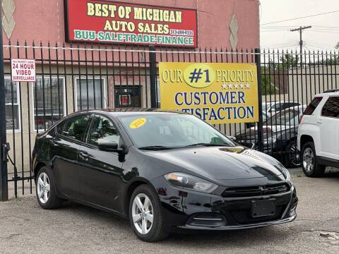 2015 Dodge Dart for sale at Best of Michigan Auto Sales in Detroit MI