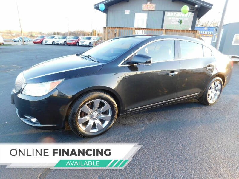 2011 Buick LaCrosse for sale at Buy Right Auto Sales Inc in Fort Wayne IN
