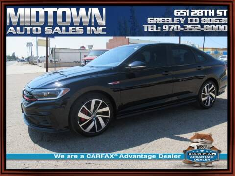 2019 Volkswagen Jetta for sale at MIDTOWN AUTO SALES INC in Greeley CO