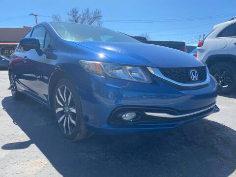2015 Honda Civic for sale at Auto Exchange in The Plains OH