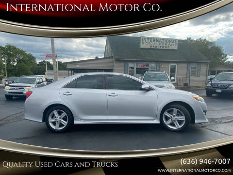 2012 Toyota Camry for sale at International Motor Co. in Saint Charles MO