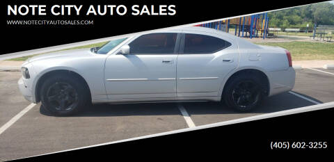 2010 Dodge Charger for sale at NOTE CITY AUTO SALES in Oklahoma City OK