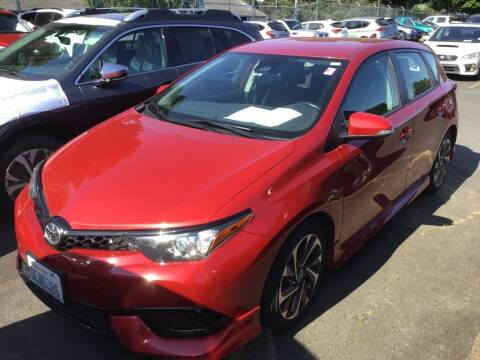 2017 Toyota Corolla iM for sale at Royal Moore Custom Finance in Hillsboro OR