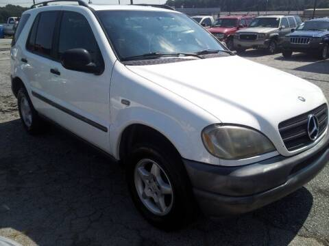 1998 Mercedes-Benz M-Class for sale at DREWS AUTO SALES INTERNATIONAL BROKERAGE in Atlanta GA