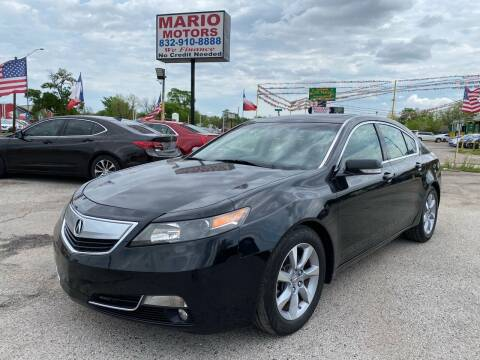 2012 Acura TL for sale at Mario Motors in South Houston TX