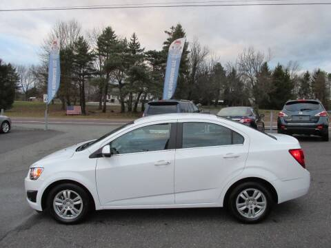 2015 Chevrolet Sonic for sale at GEG Automotive in Gilbertsville PA