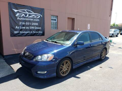 2005 Toyota Corolla for sale at ENZO AUTO in Parma OH