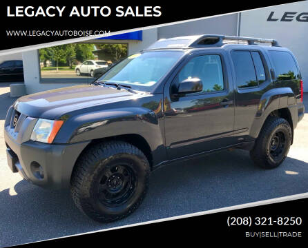 2007 Nissan Xterra for sale at LEGACY AUTO SALES in Boise ID