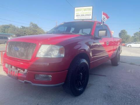 2005 Ford F-150 for sale at Shock Motors in Garland TX