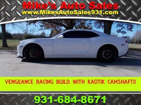 2015 Chevrolet Camaro for sale at Mike's Auto Sales in Shelbyville TN