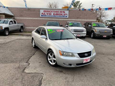 2006 Hyundai Sonata for sale at Brothers Auto Group in Youngstown OH