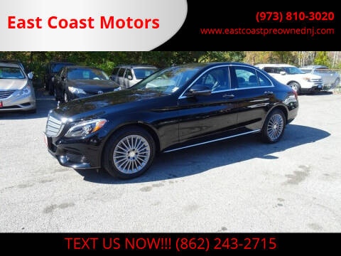 2016 Mercedes-Benz C-Class for sale at East Coast Motors in Lake Hopatcong NJ