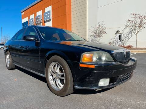 2001 Lincoln LS for sale at ELAN AUTOMOTIVE GROUP in Buford GA