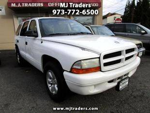 2003 Dodge Durango for sale at M J Traders Ltd. in Garfield NJ