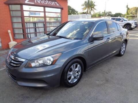 2012 Honda Accord for sale at Z Motors in North Lauderdale FL