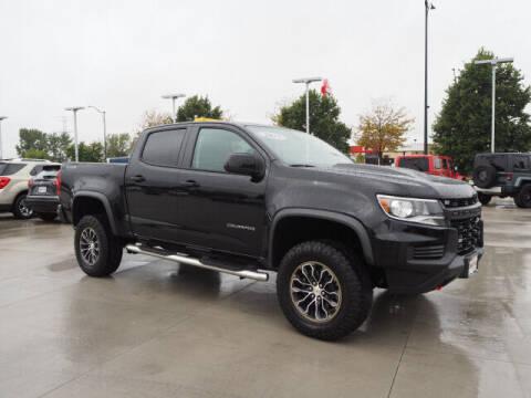 2021 Chevrolet Colorado for sale at SIMOTES MOTORS in Minooka IL