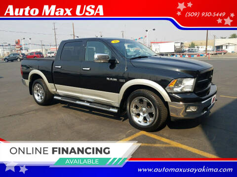 2010 Dodge Ram Pickup 1500 for sale at Auto Max USA in Yakima WA