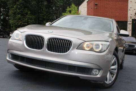 2011 BMW 7 Series for sale at Atlanta Unique Auto Sales in Norcross GA