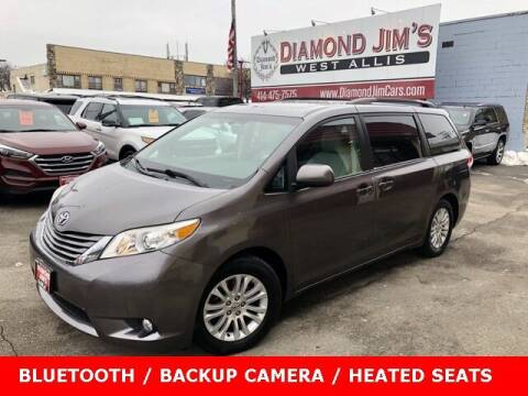 2013 Toyota Sienna for sale at Diamond Jim's West Allis in West Allis WI