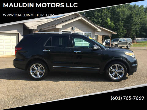 2015 Ford Explorer for sale at MAULDIN MOTORS LLC in Sumrall MS