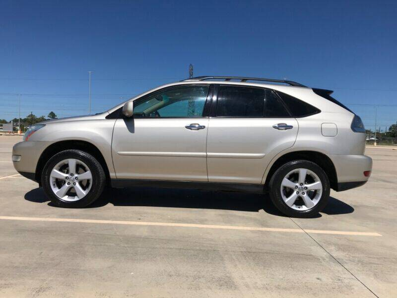 2008 Lexus RX 350 for sale at ALL AMERICAN FINANCE AND AUTO in Houston TX