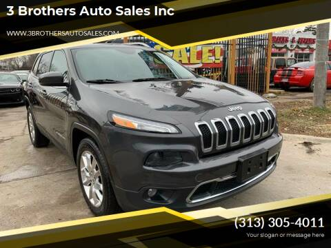 2014 Jeep Cherokee for sale at 3 Brothers Auto Sales Inc in Detroit MI
