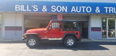 2006 Jeep Wrangler for sale at Bill's & Son Auto/Truck Inc in Ravenna OH