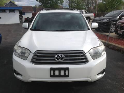 2010 Toyota Highlander for sale at Sindic Motors in Waukesha WI