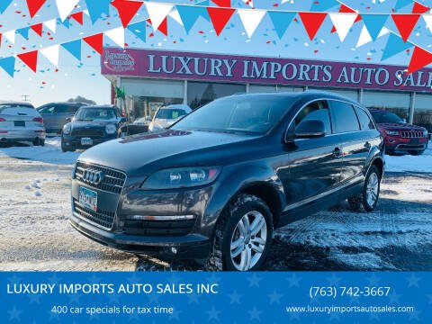 2009 Audi Q7 for sale at LUXURY IMPORTS AUTO SALES INC in North Branch MN