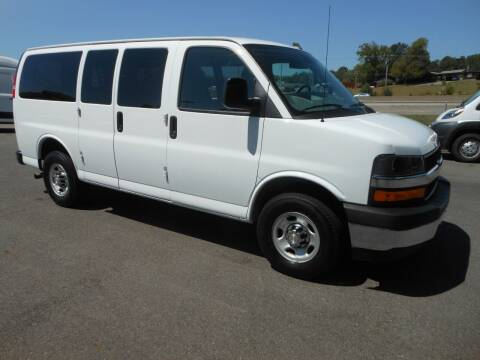 2020 Chevrolet Express Passenger for sale at Benton Truck Sales - Passenger Vans in Benton AR