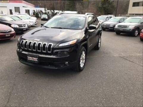 2014 Jeep Cherokee for sale at Wilton Auto Park.com in Wilton CT