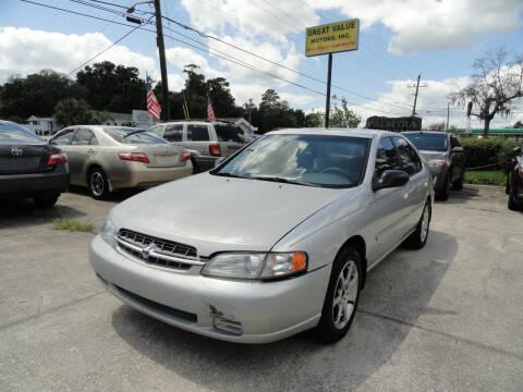 1999 Nissan Altima for sale at GREAT VALUE MOTORS in Jacksonville FL