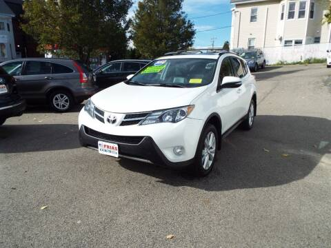 2014 Toyota RAV4 for sale at FRIAS AUTO SALES LLC in Lawrence MA