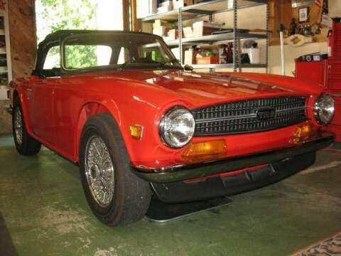1973 Triumph TR6 for sale at Classic Car Deals in Cadillac MI