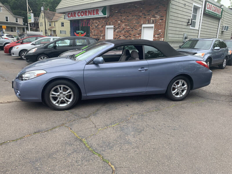 2008 Toyota Camry Solara for sale at CAR CORNER RETAIL SALES in Manchester CT