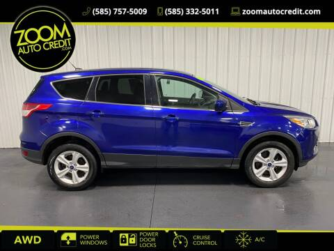 2016 Ford Escape for sale at ZoomAutoCredit.com in Elba NY