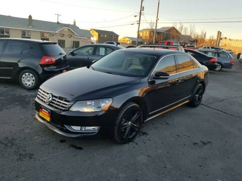 2014 Volkswagen Passat for sale at Cool Cars LLC in Spokane WA