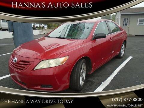 2007 Toyota Camry for sale at Hanna's Auto Sales in Indianapolis IN