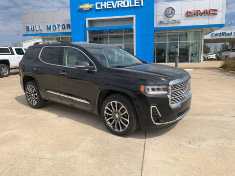 2021 GMC Acadia for sale at BULL MOTOR COMPANY in Wynne AR