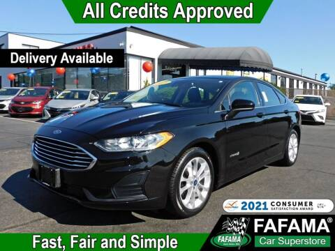 2019 Ford Fusion Hybrid for sale at FAFAMA AUTO SALES Inc in Milford MA