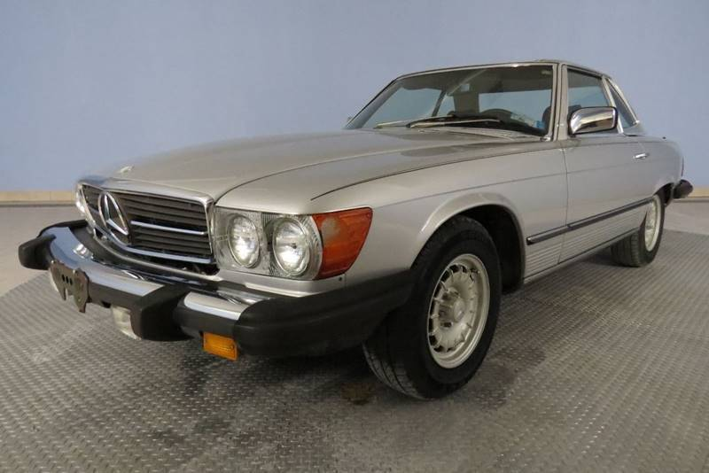 1984 Mercedes-Benz 380-Class for sale at Hagan Automotive in Chatham IL