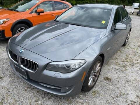 2011 BMW 5 Series for sale at BILLY HOWELL FORD LINCOLN in Cumming GA