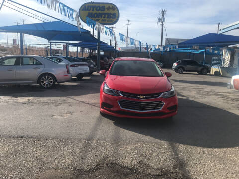 2017 Chevrolet Cruze for sale at Autos Montes in Socorro TX