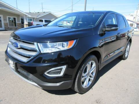 2017 Ford Edge for sale at Dam Auto Sales in Sioux City IA