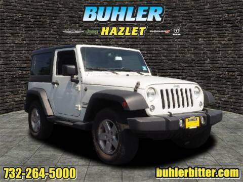 2015 Jeep Wrangler for sale at Buhler and Bitter Chrysler Jeep in Hazlet NJ