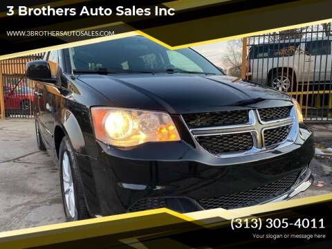 2015 Dodge Grand Caravan for sale at 3 Brothers Auto Sales Inc in Detroit MI