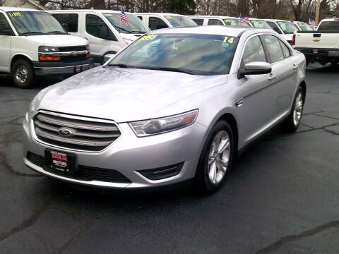 2014 Ford Taurus for sale at Stoltz Motors in Troy OH